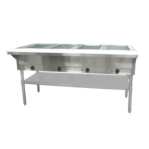 commercial steam table